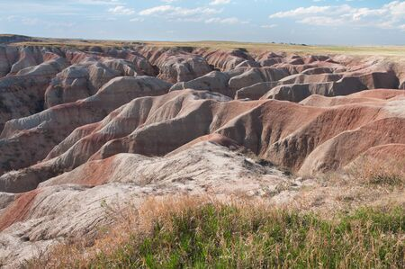 badlands: Badlands National Park scenery