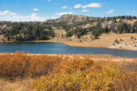wyoming: Scenery along the Beartooth Highway in Wyoming.