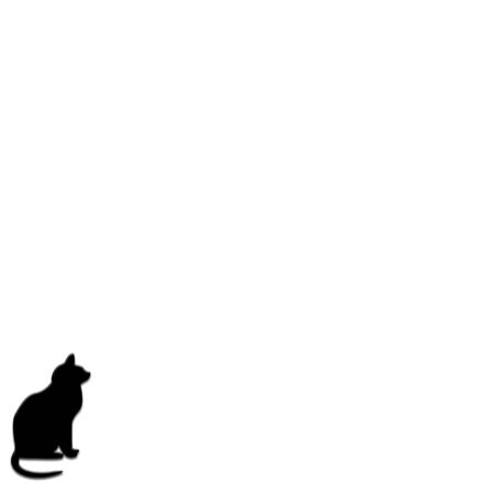 Black Cat Stationary 版權商用圖片