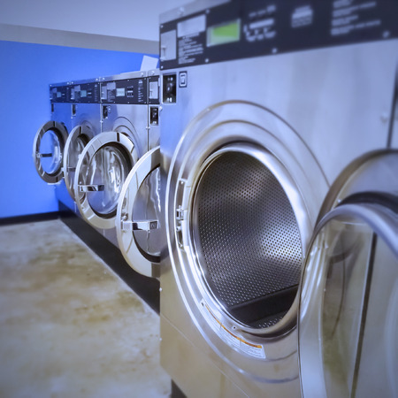 Stainless steel front load washing machines