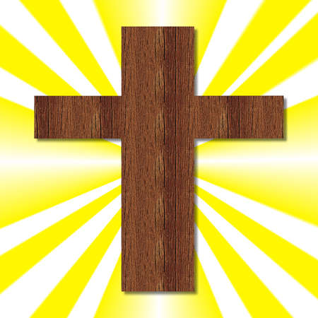 wooden cross: Christian Symbol