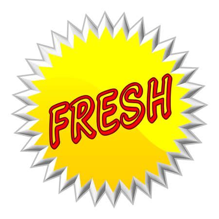 Fresh web button