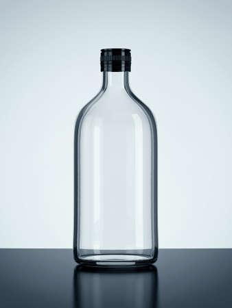 Bottle on floor