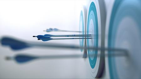 3 Arrows hit target