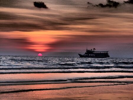 chang: Koh Chang- Klong Prao sunset beach-