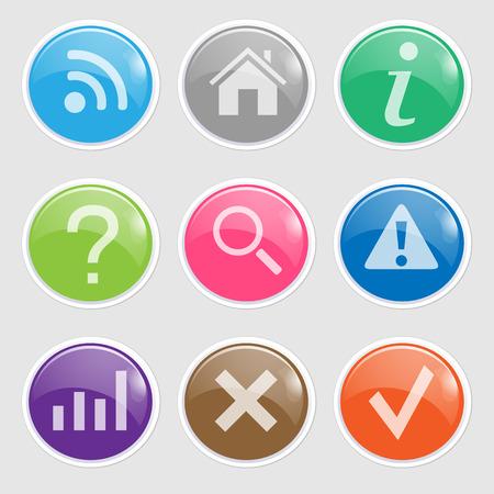 len: Website Button