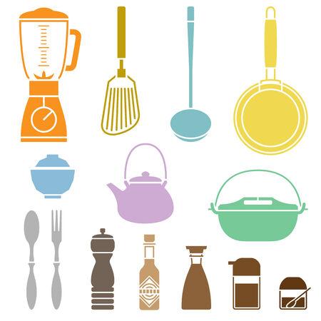 utensilios de cocina: Juego de utensilios de cocina
