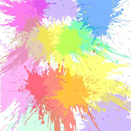 Abstract aquarel spatten. Aquarel Spray.