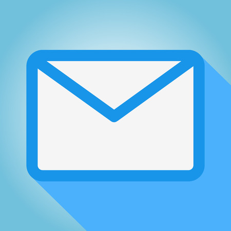 outlook: Email icons great for any use. Vector EPS10.