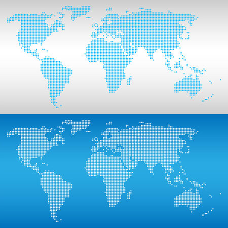 World map icons set great for any use. Vector EPS10. Vector