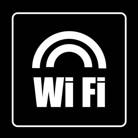 WIFI icon great for any use. Vector EPS10. Vector