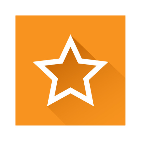 Star icon great for any use. Vector EPS10. Illustration