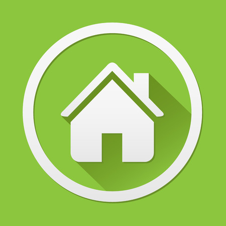 Home ecology icon great for any use. Vector EPS10. Vector