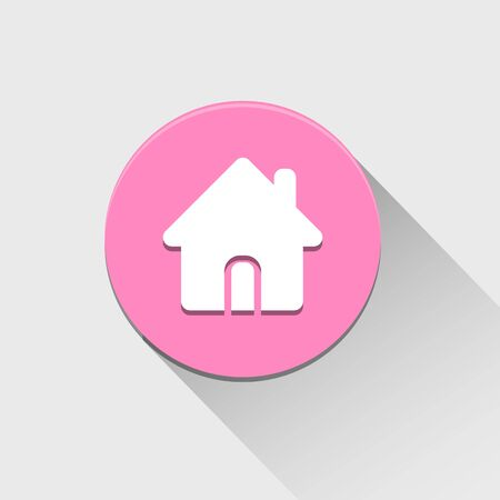 Home icon great for any use.  Vector