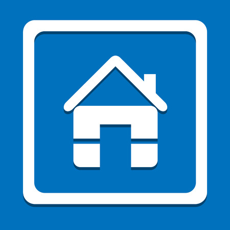 Home icon great for any use Vector