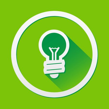 green bulb: Green Bulb icon great for any use.