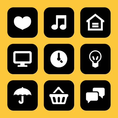 umbella: Mobile and Website icons set great for any use.