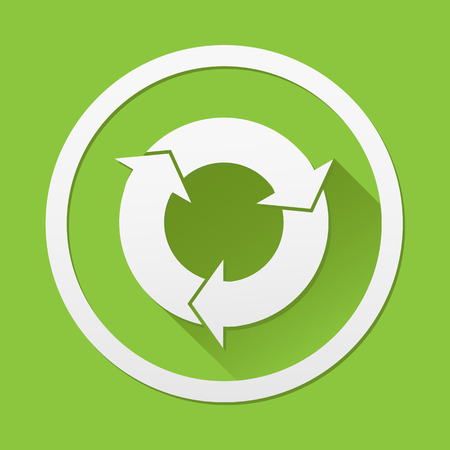 refresh icon: Arrow refresh icon great for any use.  Illustration