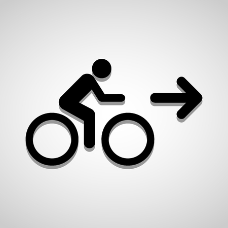 bycicle: Bicycle sign icon great for any use.