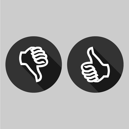 unlike: Like and Unlike icon great for any use.