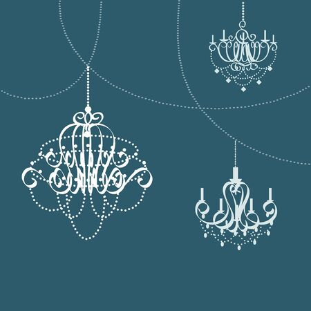 Chandelier icon great for any use.  Иллюстрация