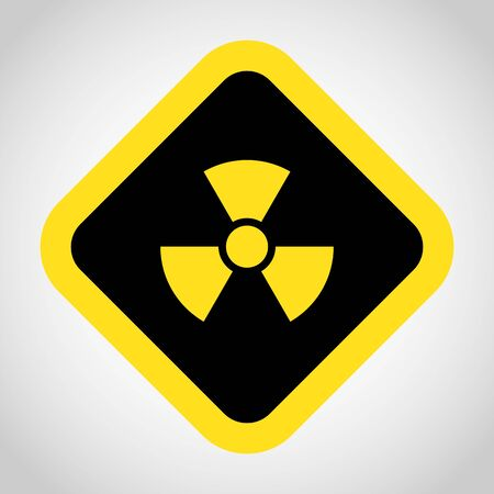 fission: Radioactivity icon great for any use.    Illustration