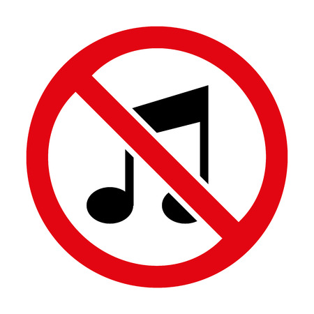No music icon great for any use. Vector EPS10. Vector