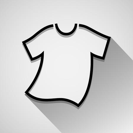 T-Shirt icon Stock Illustratie