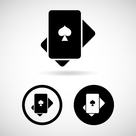 card icon great for any use.  Vector
