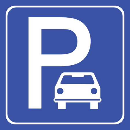 tel: Car Parking icon great for any use.