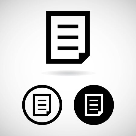 file icon great for any use. Vector