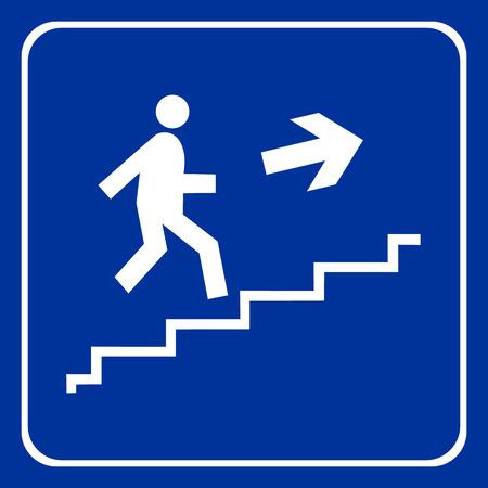 Icônes escaliers grand cas de l'utilisation Banque d'images - 38318185