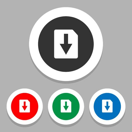 file icons set great for any use.  Vector