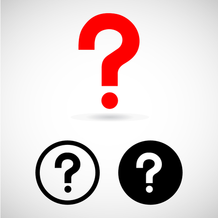 any: question mark icon great for any use.