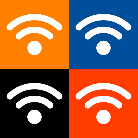 wifi icon great for any use. Vector