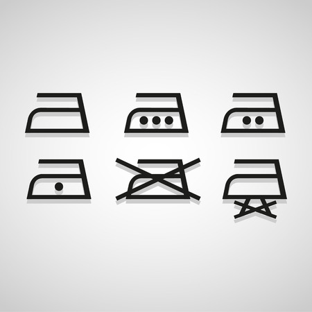 electric iron: iron icon great for any use. Illustration