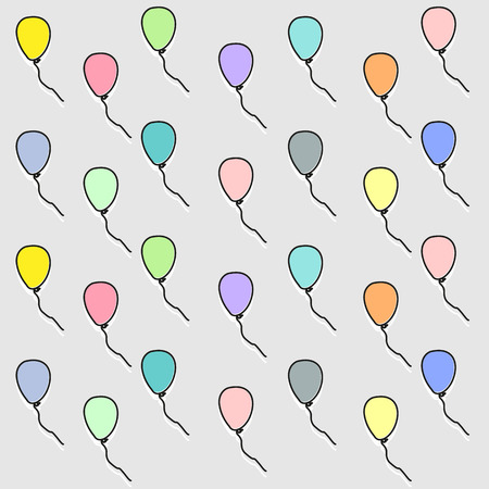 balloon wallpaper great for any use. Vector