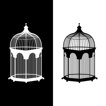 birdcage: birdcage icons set great for any use.
