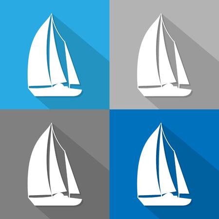 sailboat: sailboat icon great for any use.