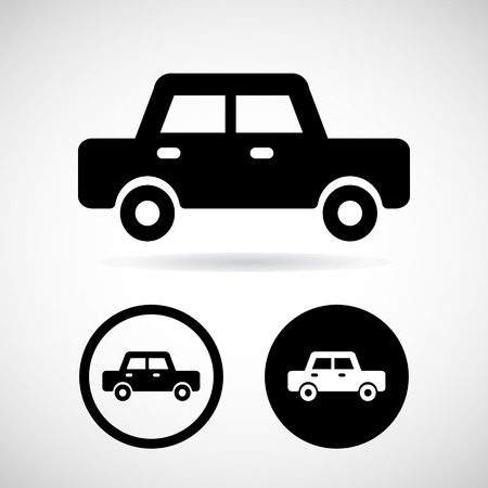 car icon great for any use. Vector