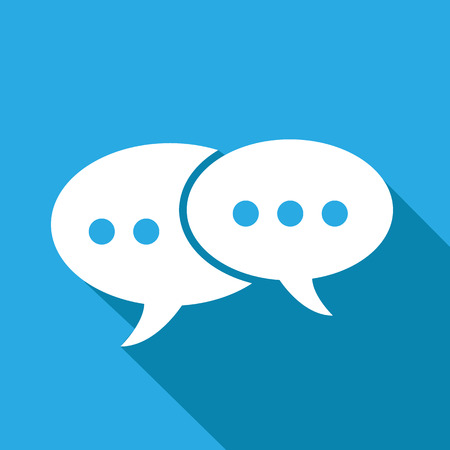 talking: message icons set great for any use. Vector EPS10.