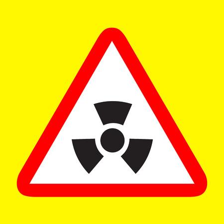 radiactividad: Iconos radiactividad grandes para cualquier uso. Vectores