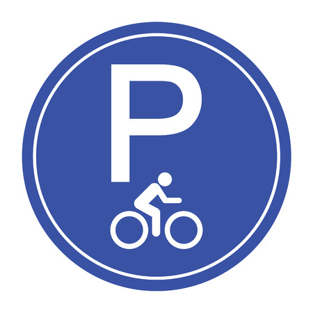 out of use: bike parking out icon great for any use
