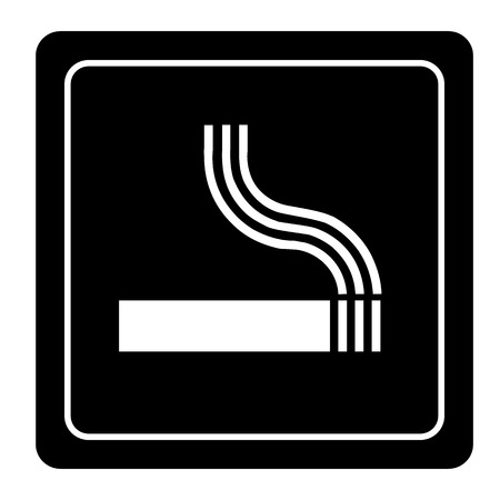 smoke icon great for any use. Vector