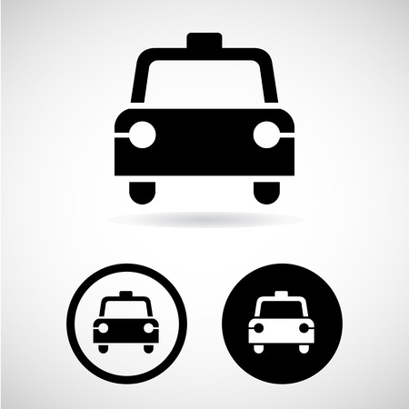 taxi icons great for any use.