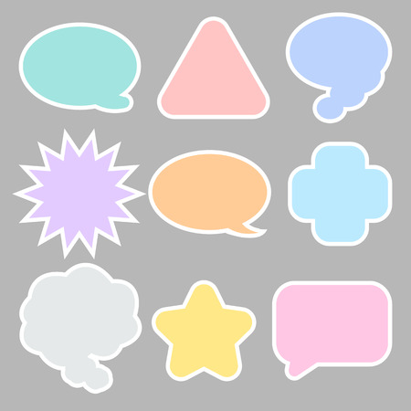 short message service: message icon great for any use Illustration