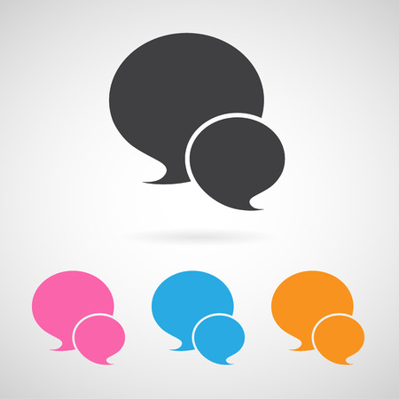 message icon great for any use.  Vector