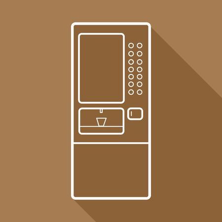 cooler machine icons set great for any use.  Vector