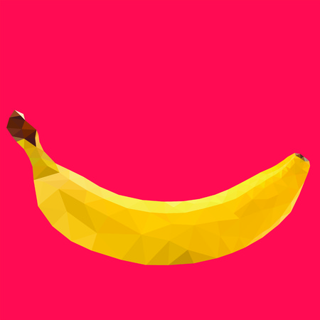 banana icon great for any use.  Vector