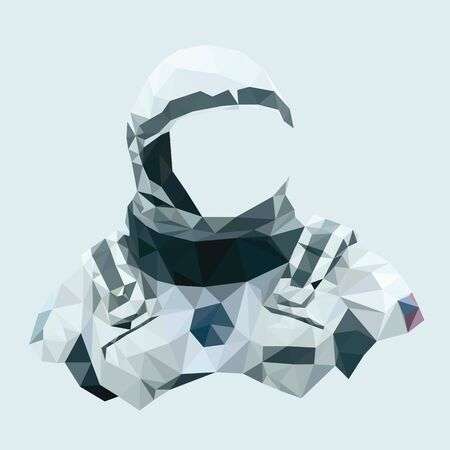 cartoon astronaut: Spacesuits Mascot cartoon great for any use. Illustration